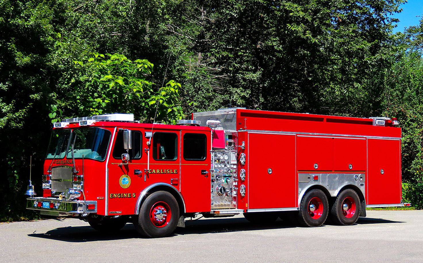 Carlisle Engine 5